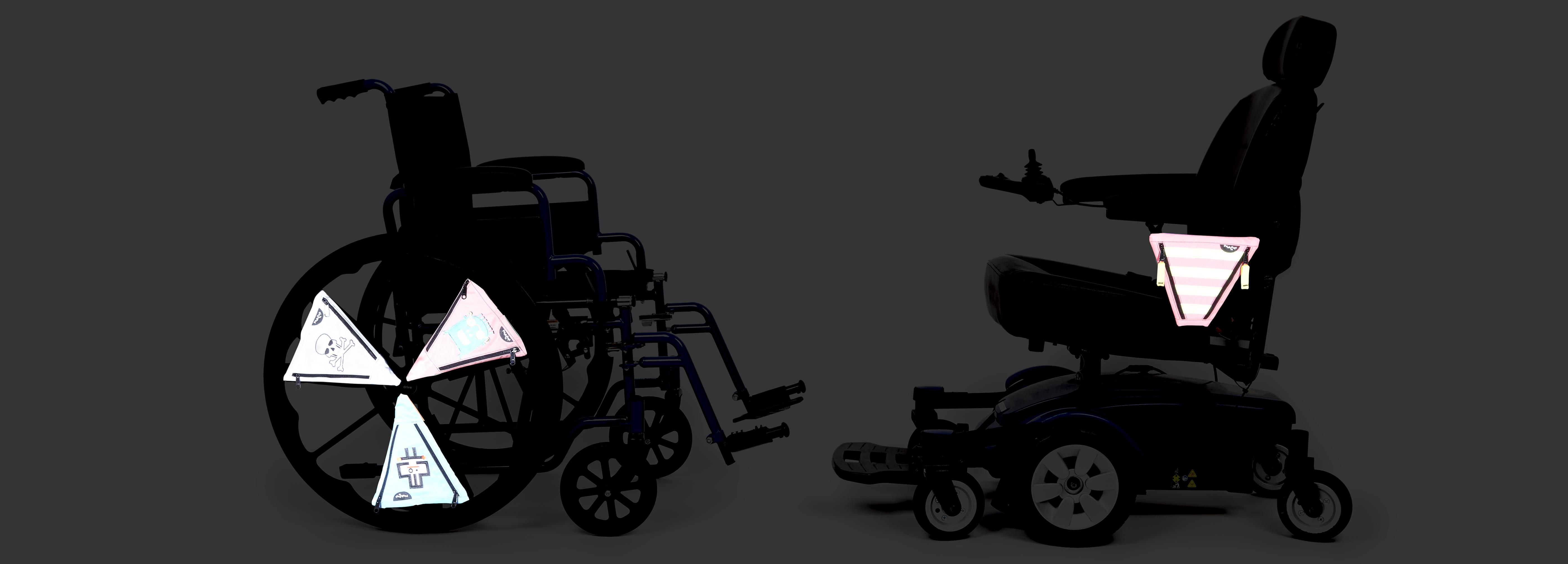 PunkinPies on Wheelchairs in the dark