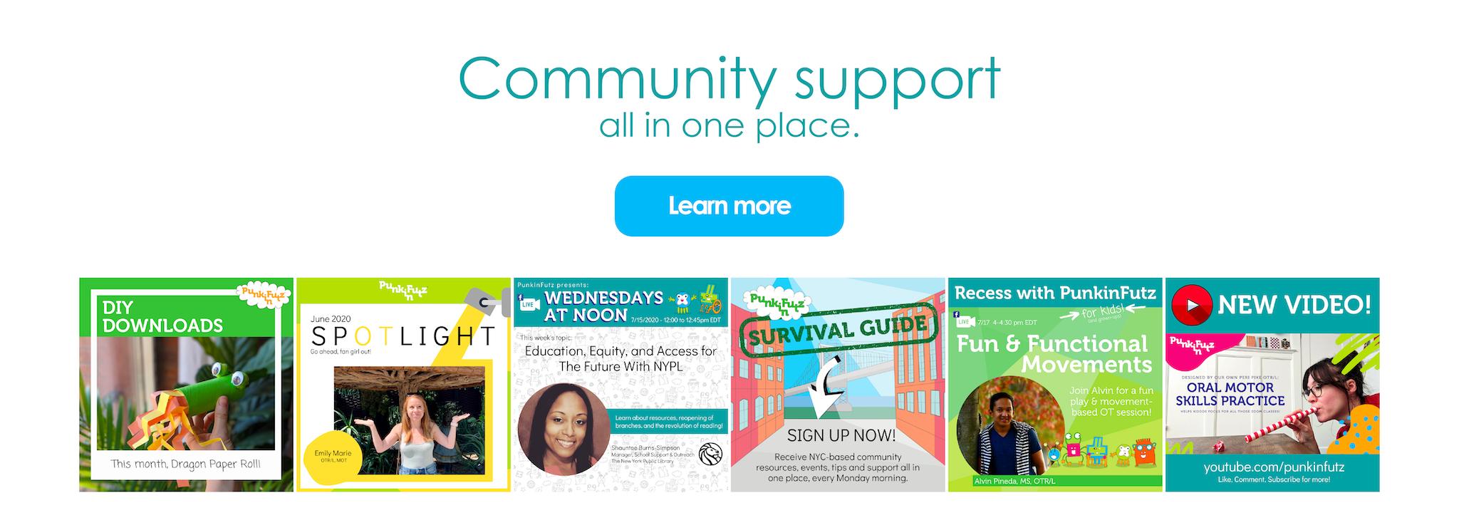 PunkinFutz Community Support