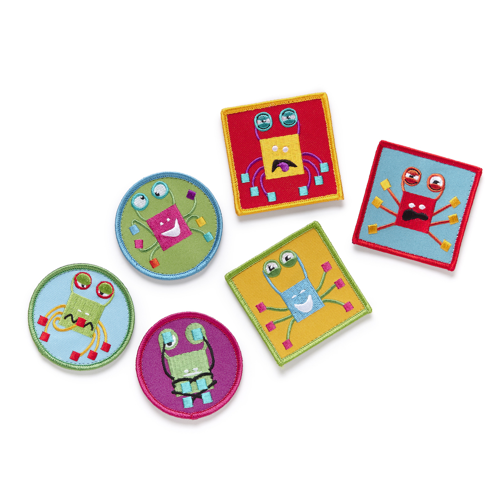Crabster PunkinPals patches