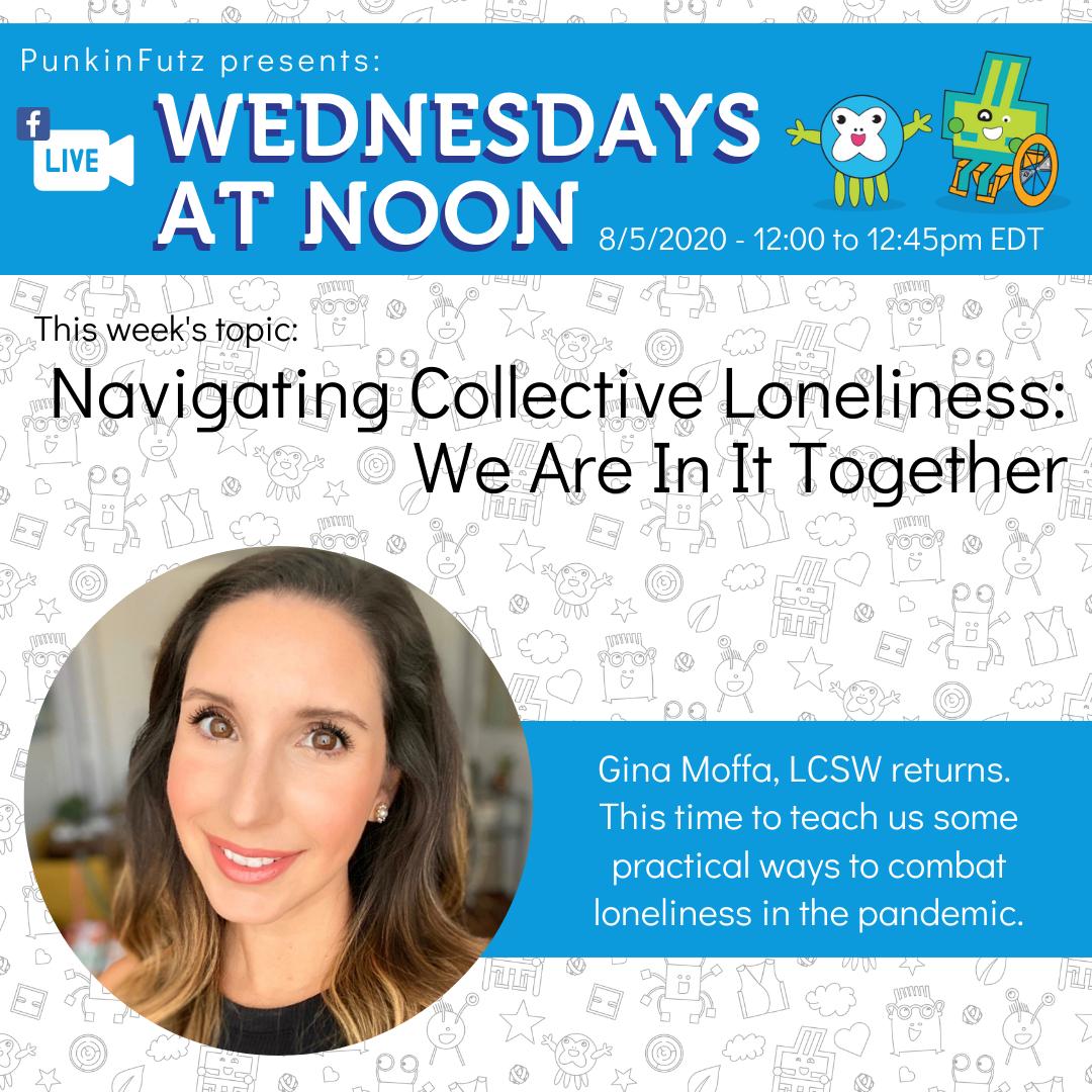 Wednesdays at Noon with Gina Moffa