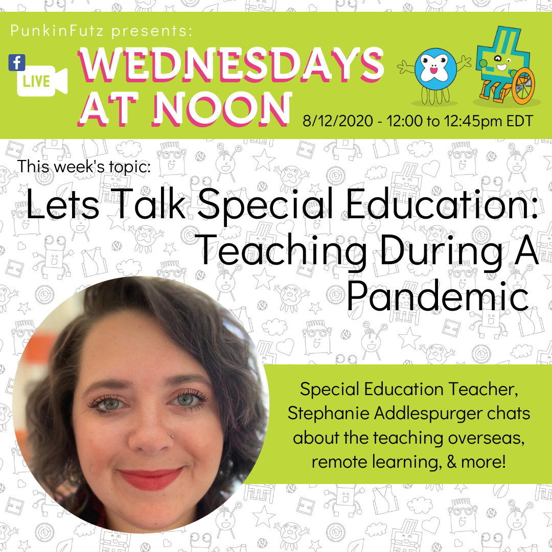 Wednesdays at Noon with Stephanie Addlespurger