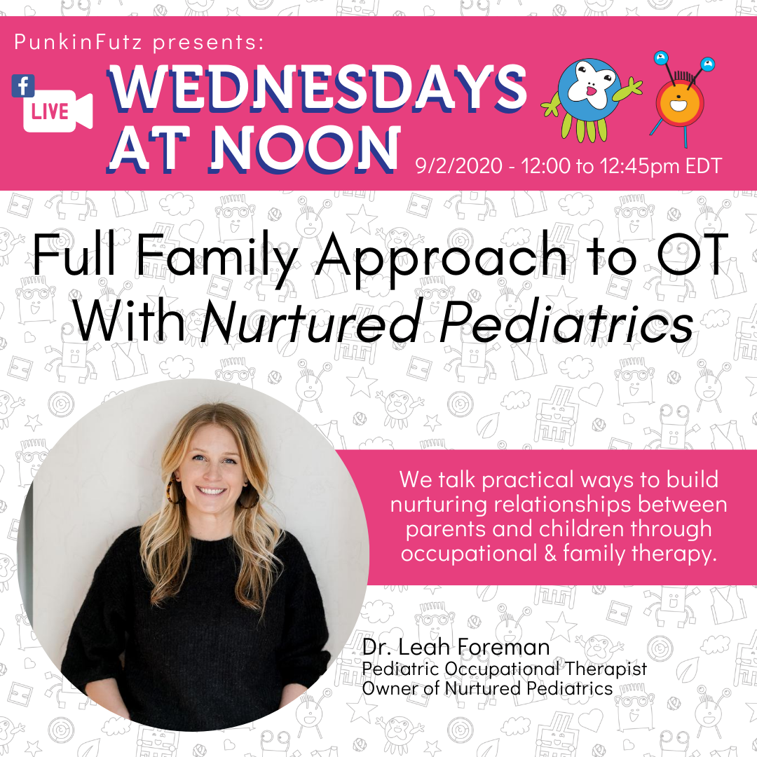 Wednesdays at Noon with Dr. Leah Foreman